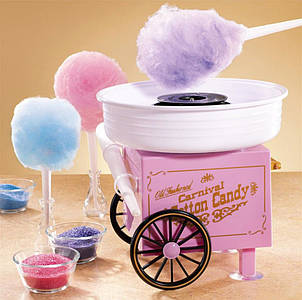 Аппарат для сахарной ваты Carnival – Cotton Candy Maker на колесиках