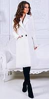 Женское весеннее пальто кашемировое