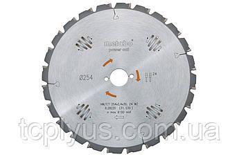 Пильний диск Metabo 190х2.2х30