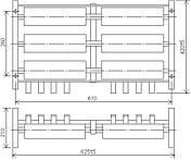 Блоки резисторов типа БК12 У2 ИРАК 434.331.003-хх, фото 3
