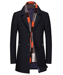 Мужское пальто. Модель 61777