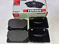 Колодки тормозные передние Ваз 2101-2107 Ferodo FDB96 красные, фото 1