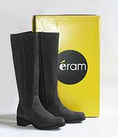 Шикарные замшевые сапоги Eram, Франция-Оригинал