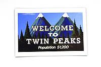 Магниты Welcome to Twin Peaks на холодильник