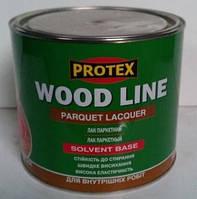 Лак Паркетный полиуретановый PROTEX (матовый) 2,1л, фото 1