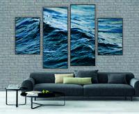 """Модульна картина"""" Хвиля у морі"""""""