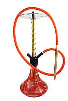Кальян для курения для 1 персоны с силиконовой трубкой Hookah 3078 (75 см), фото 2
