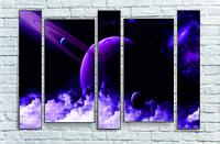 """Модульна картина"""" Сатурн"""""""