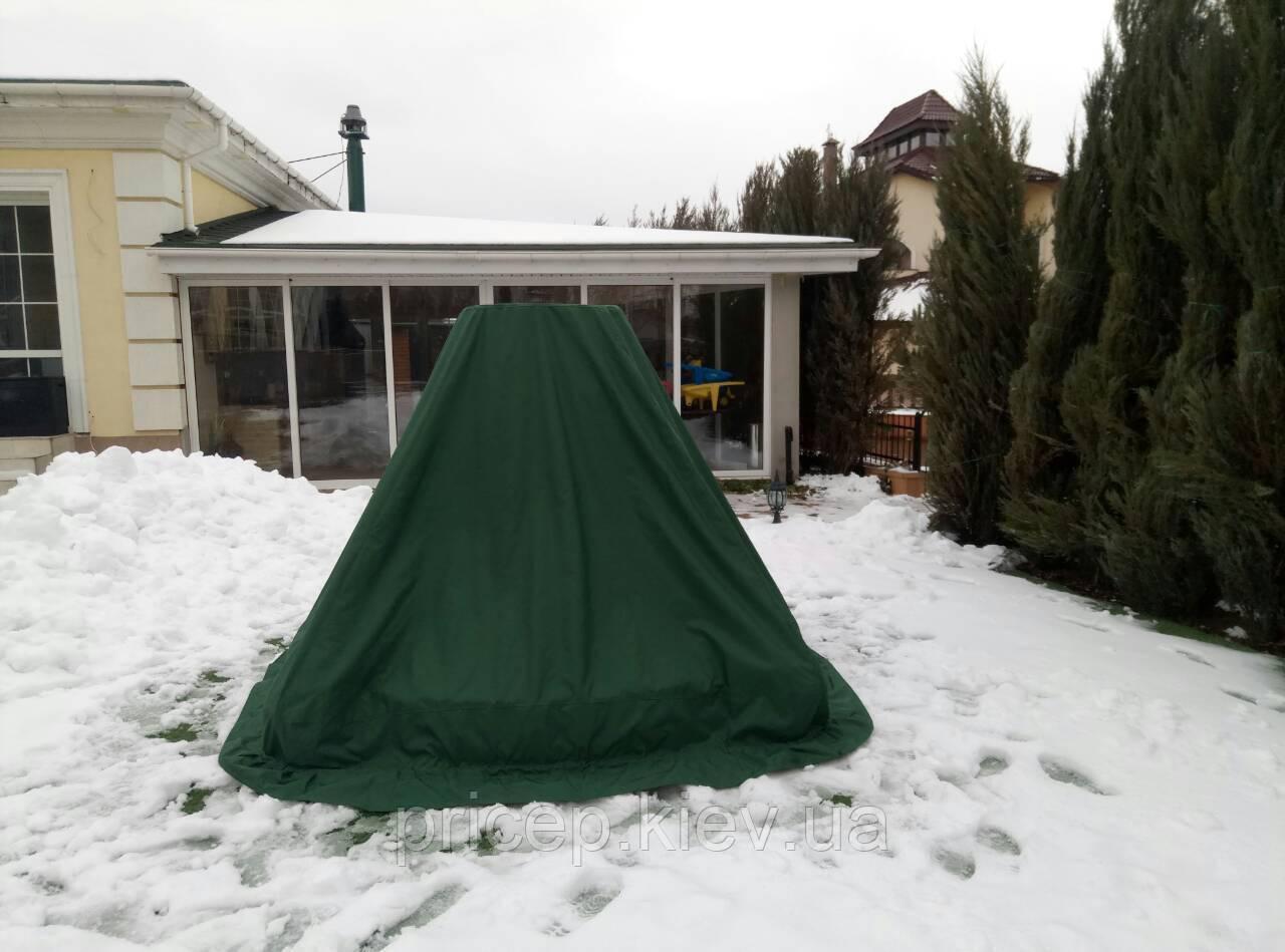 Накрити фонтан від снігу, дощу. Якісний поліестер 500-1000D.