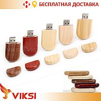 Флешка деревянная Gifter 4 GB, 8 GB, 16 GB, 32 GB, Usb флешка деревянная
