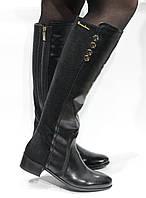 Шикарные кожаные сапоги Braccialini, Италия-Оригинал, фото 1