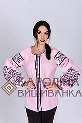 Заготовка жіночої блузки  ( пудра бохо)