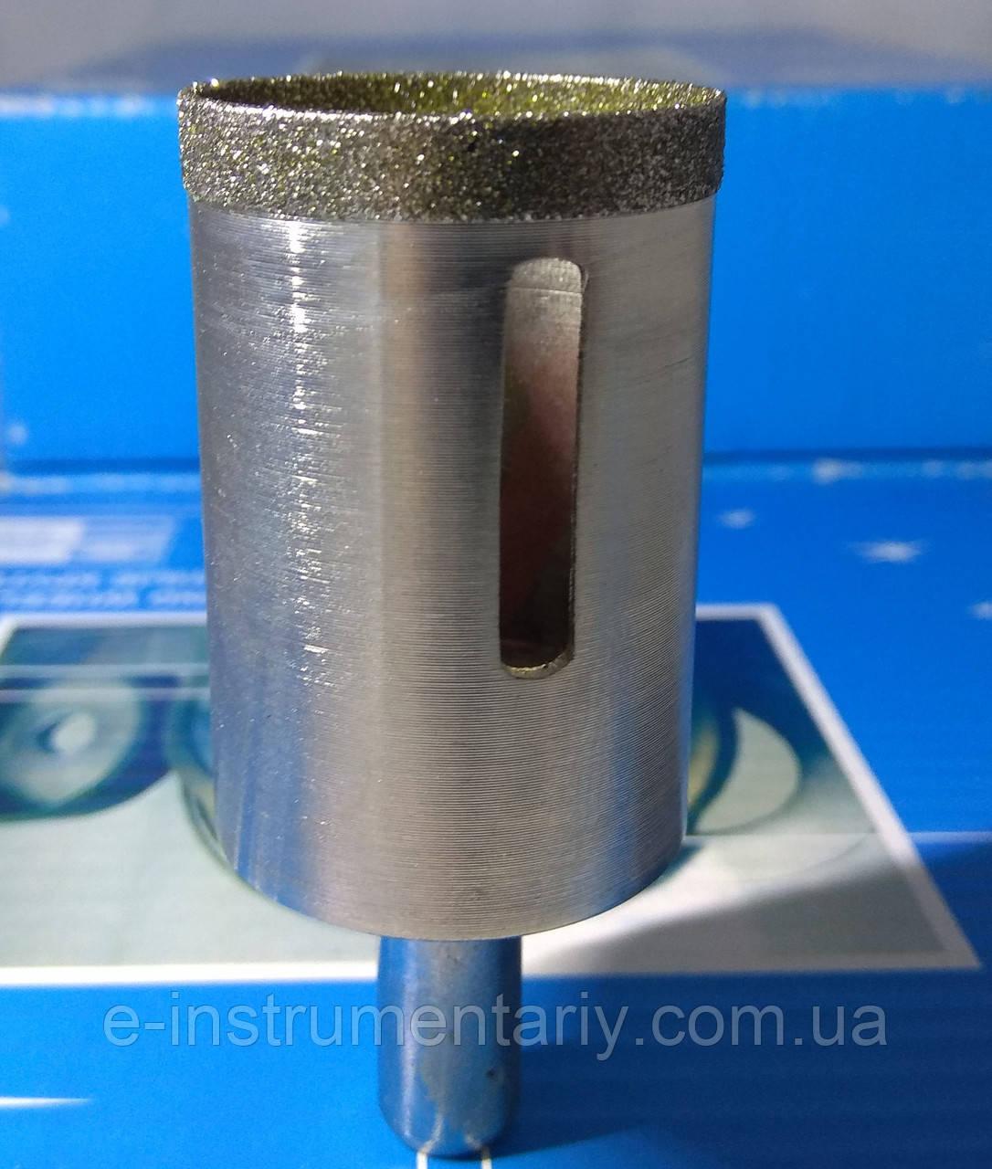 Алмазное сверло трубчатое 46мм