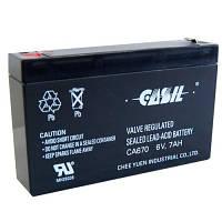 Аккумулятор CASIL СА670 6V 7Ah свинцово-кислотная необслуживаемая аккумуляторная батарея