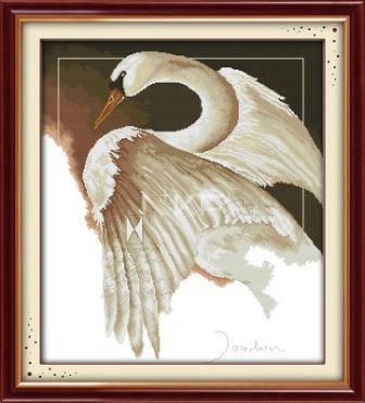 """Набор для вышивания   """"Лебедь"""", фото 2"""