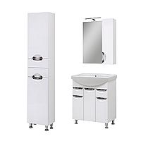Комплект мебели для ванной комнаты Оскар 70 с зеркалом Юввис