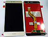 Оригинальный дисплей (модуль) + тачскрин (сенсор) для Huawei Y7   Y7 2017   Nova Lite Plus (золотой цвет)