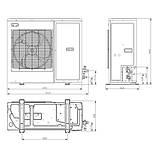 Компрессорно-конденсаторный агрегат Copeland EazyCool ZXME-025E-PFJ, фото 2