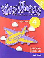 Way Ahead New Edition 4 Pupil's Book with CD-ROM (Учебник)