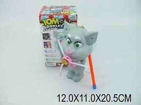 "Муз. игрушка ""Кот Том"", батар., музыка, свет, в кор. 12х11х20 /72-2/"