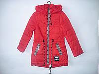 Модная демисезонная куртка - парка для девочки, р. 122-152