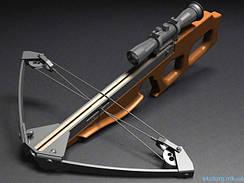 Арбалеты и стрелы для арбалета.