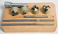 Набор зенкеров раздвижных для седел клапанов 25.4-3 (шарошки)