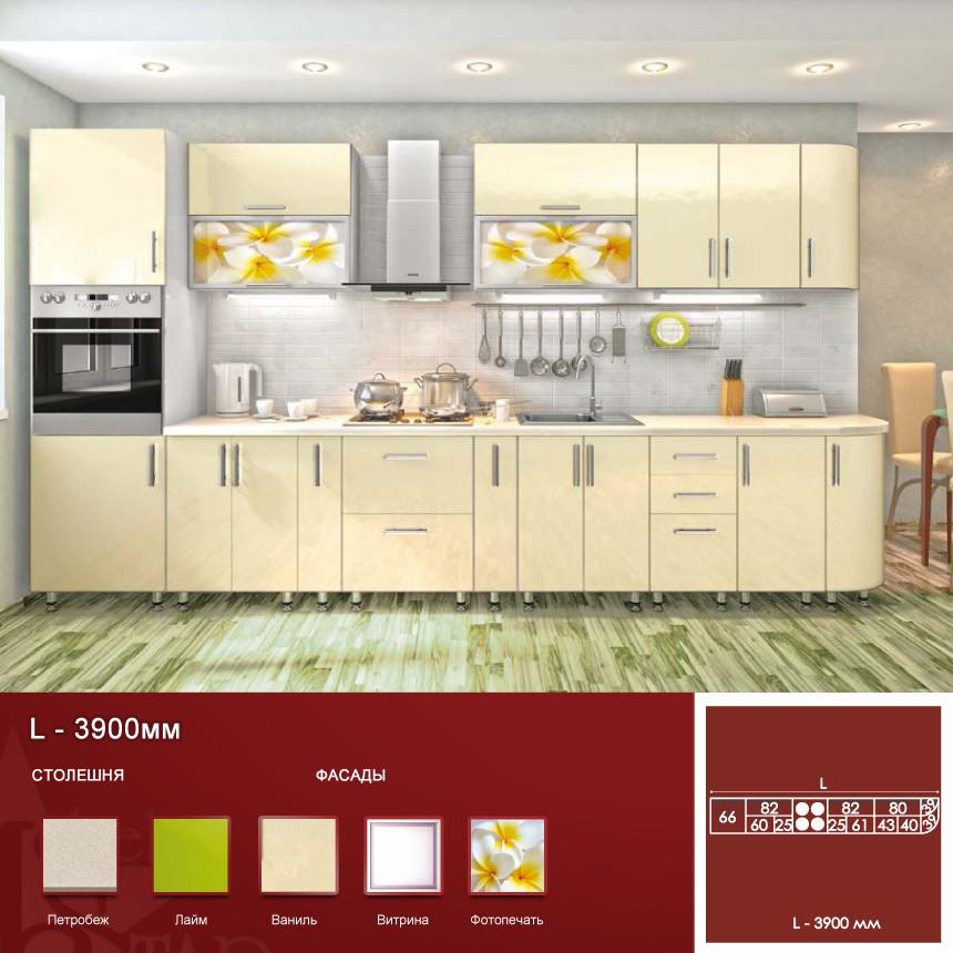 Кухня High Gloss 3.9 м. вар.4