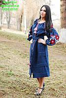 Платье женское с вышивкой СЖ 366,сукня, купити сукню, жіноча сукня, сукня з вишивкою,вишита сукня, фото 1