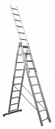 Универсальная лестница ITOSS 7610 (3х10), фото 2