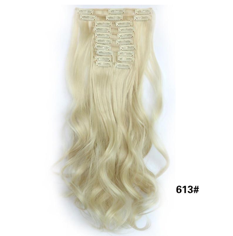 Накладні волосся локони 12 пасм довгі - 55 див.