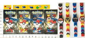 """Часы-конструктор BT-PG-0012 """"Pokemon GO"""" 4в.лист ш.к./960/"""