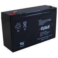 Аккумулятор CASIL СА6120 6V 12Ah свинцово-кислотная необслуживаемая аккумуляторная батарея