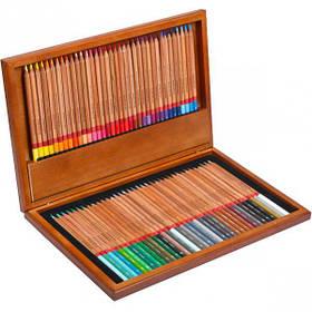 """Карандаши цветные 72 цвет """"MARCO"""" Renoir в деревянной коробке 3100-72WB"""