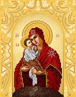 """Схема для вышивки бисером """"Почаевская икона Божией Матери"""""""