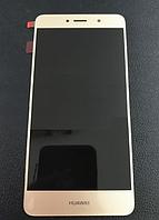 Оригинальный дисплей (модуль) + тачскрин (сенсор) для Huawei Y7 Prime   Holly 4 Plus   Enjoy 7 Plus (золотой), фото 1