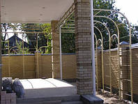 Изготовление виноградных арок
