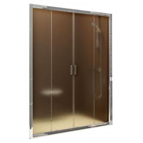 Душевая дверь Ravak BLDP 4-120 (Grape) Satin 0YVG0U00ZG