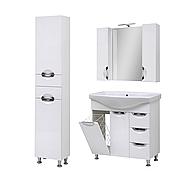 Комплект мебели для ванной комнаты Оскар 85 Т-17К с зеркалом Юввис