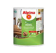Акриловый мебельный лак Alpina Aqua Möbel (глянцевый) 2,5 л