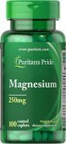 Минерал Магний, Puritan's Pride Magnesium 250 mg 100 Caplets