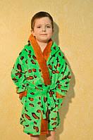 Детский махровый халат Код хд7