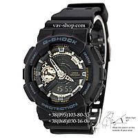 Casio G-Shock AAA GA 110 Black-Сuprum Autolight