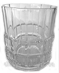 Набор стаканов из стекла 6 шт Высота 8 см