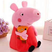 Игрушка мягкая Свинка Пеппа 30 см Пепа свинка Peppa pig