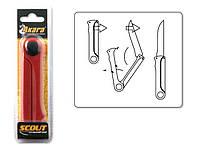 Складной нож Akara Scout Pro 10,5 см, красный