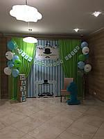 Стойка под баннер для декора шторой Press Wall  3х2 м., Напольный