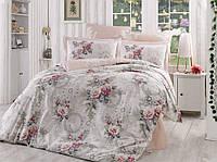 КПБ HOBBY Poplin Clementina світло-рожевий 2*160*220/2*50*70