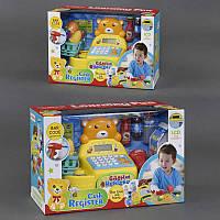 Детский кассовый аппарат на батарейке, в коробке