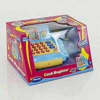 Детский кассовый аппарат игрушка на батарейке, в коробке